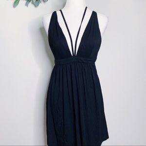 NWT Tobi Strappy Plunge A-Line Dress